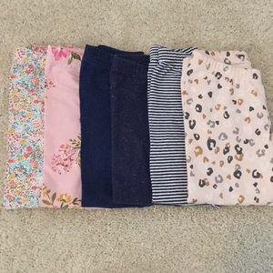 Girls legging bundle sizes 2t-4t